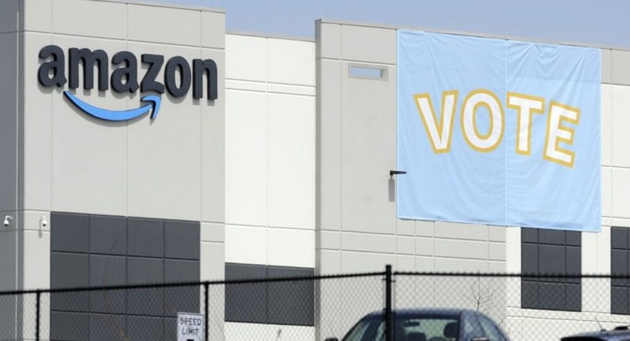 Amazon Workers Vote Against Union in Alabama
