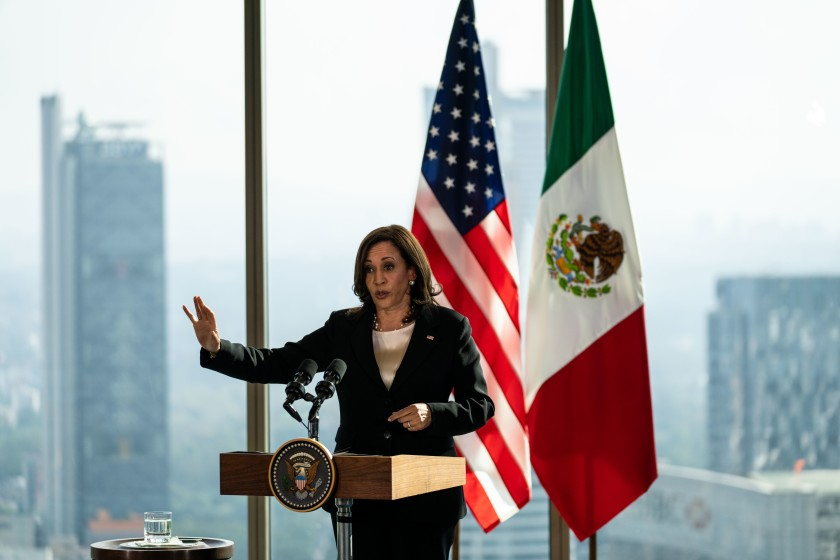 VP Kamala Harris Advises Migrants not to Come to the US in First Trip Abroad to Guatemala and Mexico