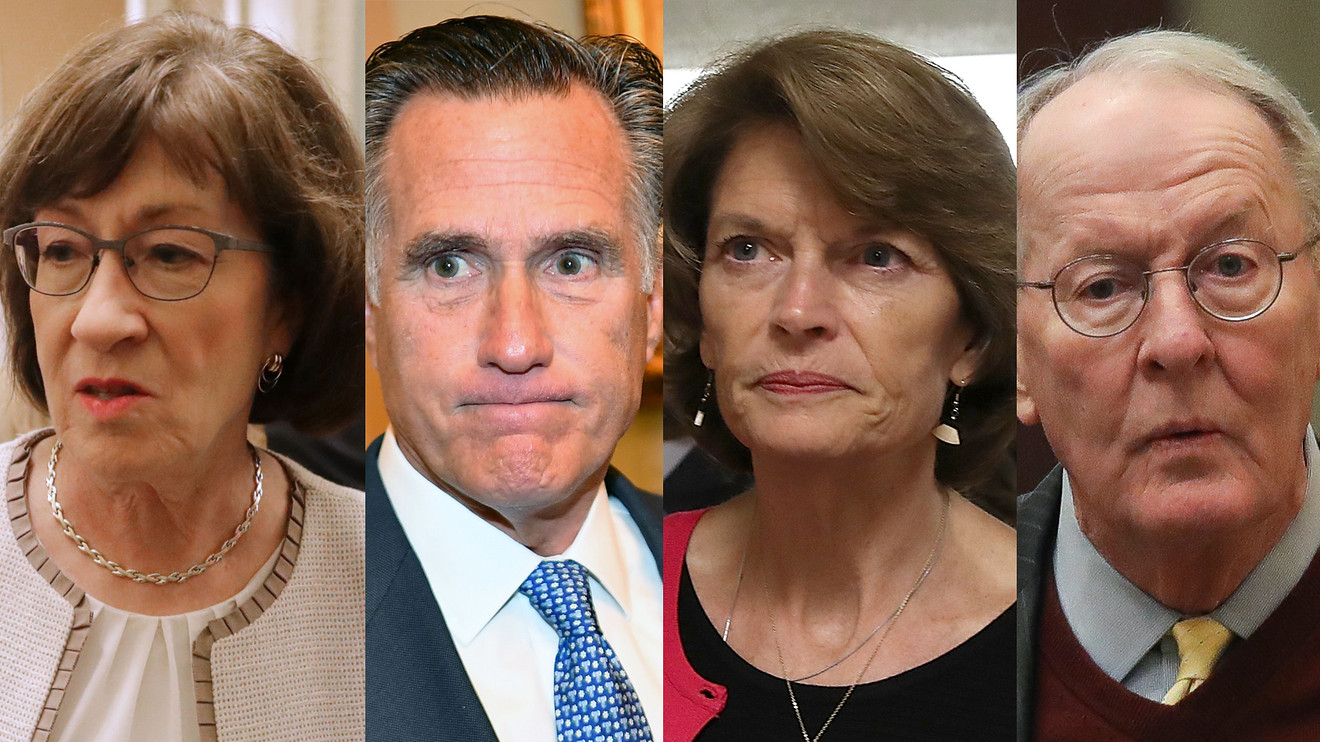 The Moderate Republicans: A Guide to Who's Who