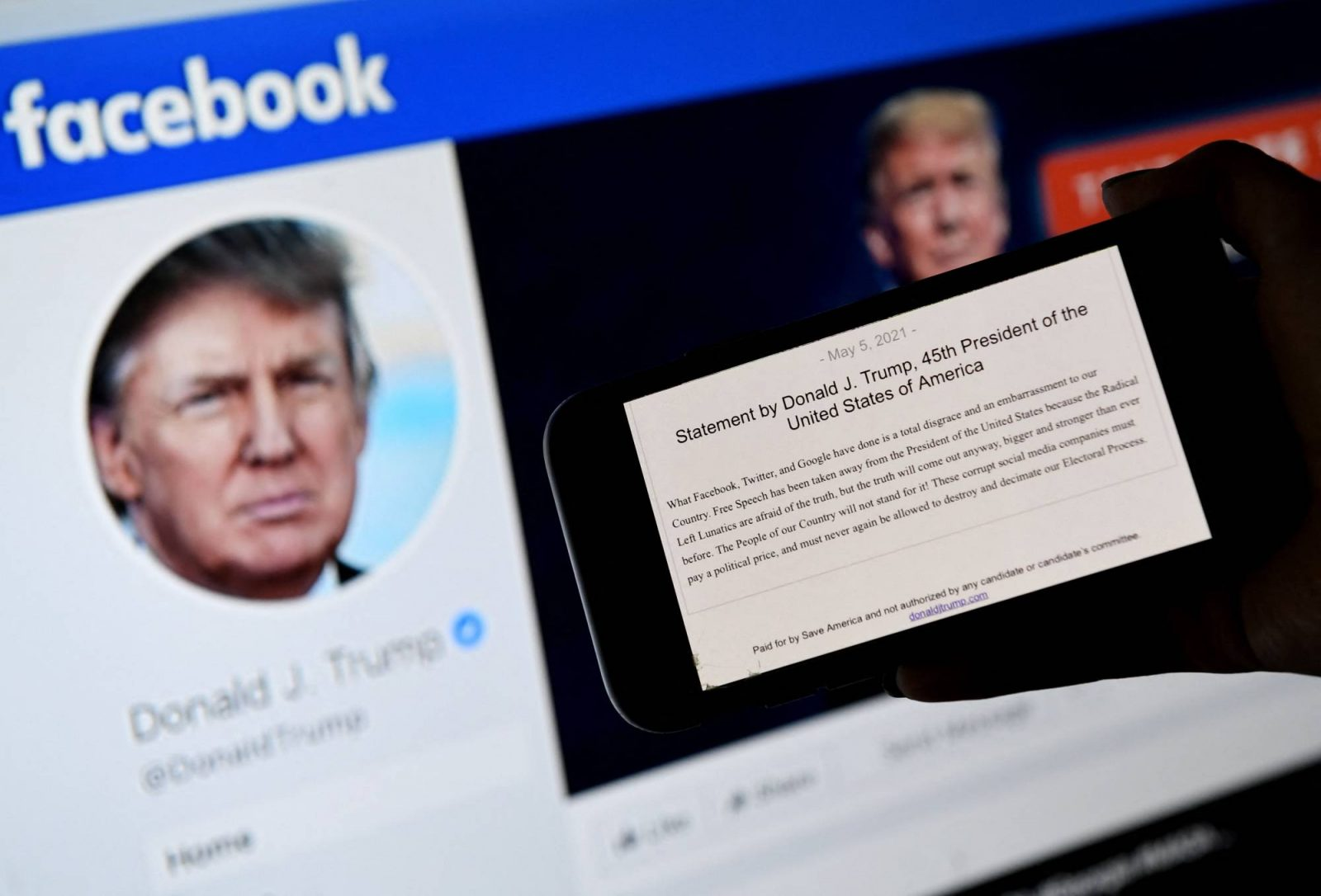 Facebook Extends Trump Ban For 2 Years
