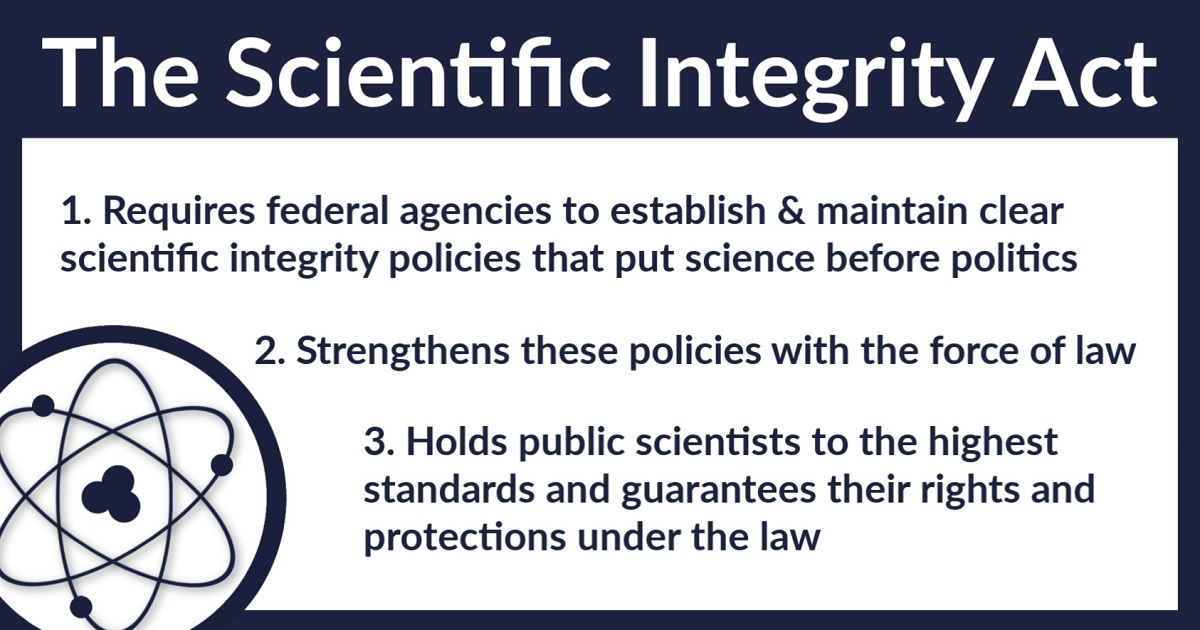 """Proposed Scientific Integrity Act Would Help Reverse Trump's """"War on Science"""""""