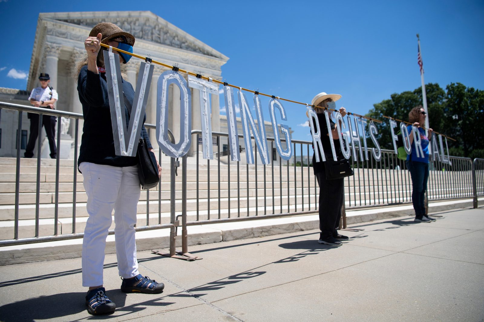 U.S. Supreme Court's Brnovice v. Democratic National Committee Decision Further Weakens Voting Rights Act of 1965