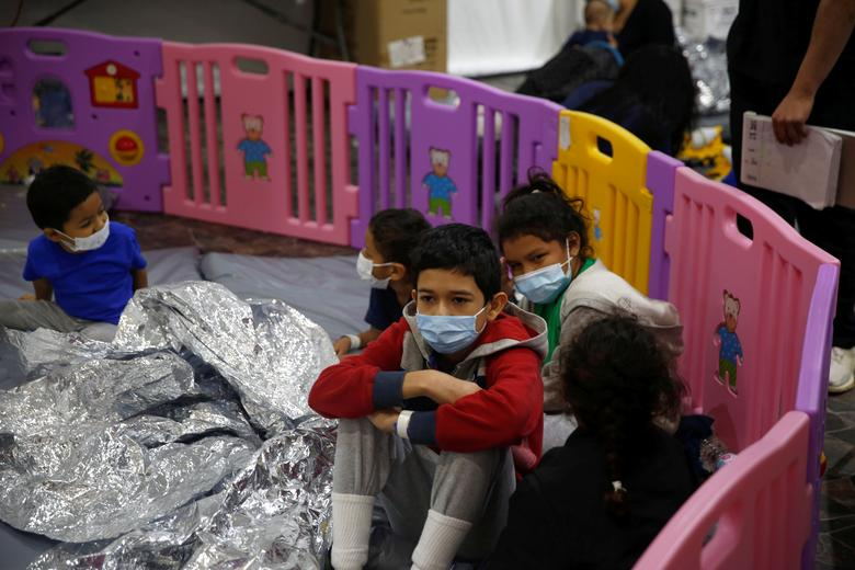 Alarming Reports Regarding Poor Conditions of Detained Migrant Children in Biden Administration Emergency Shelters
