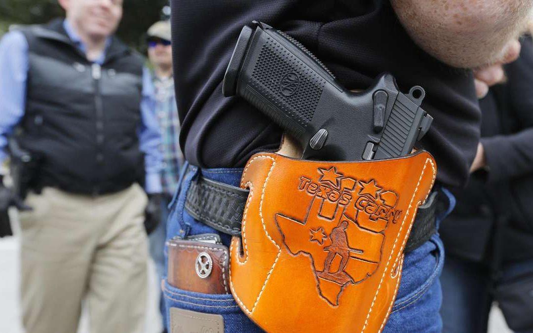 Texas Allows Anyone to Openly Carry a Gun