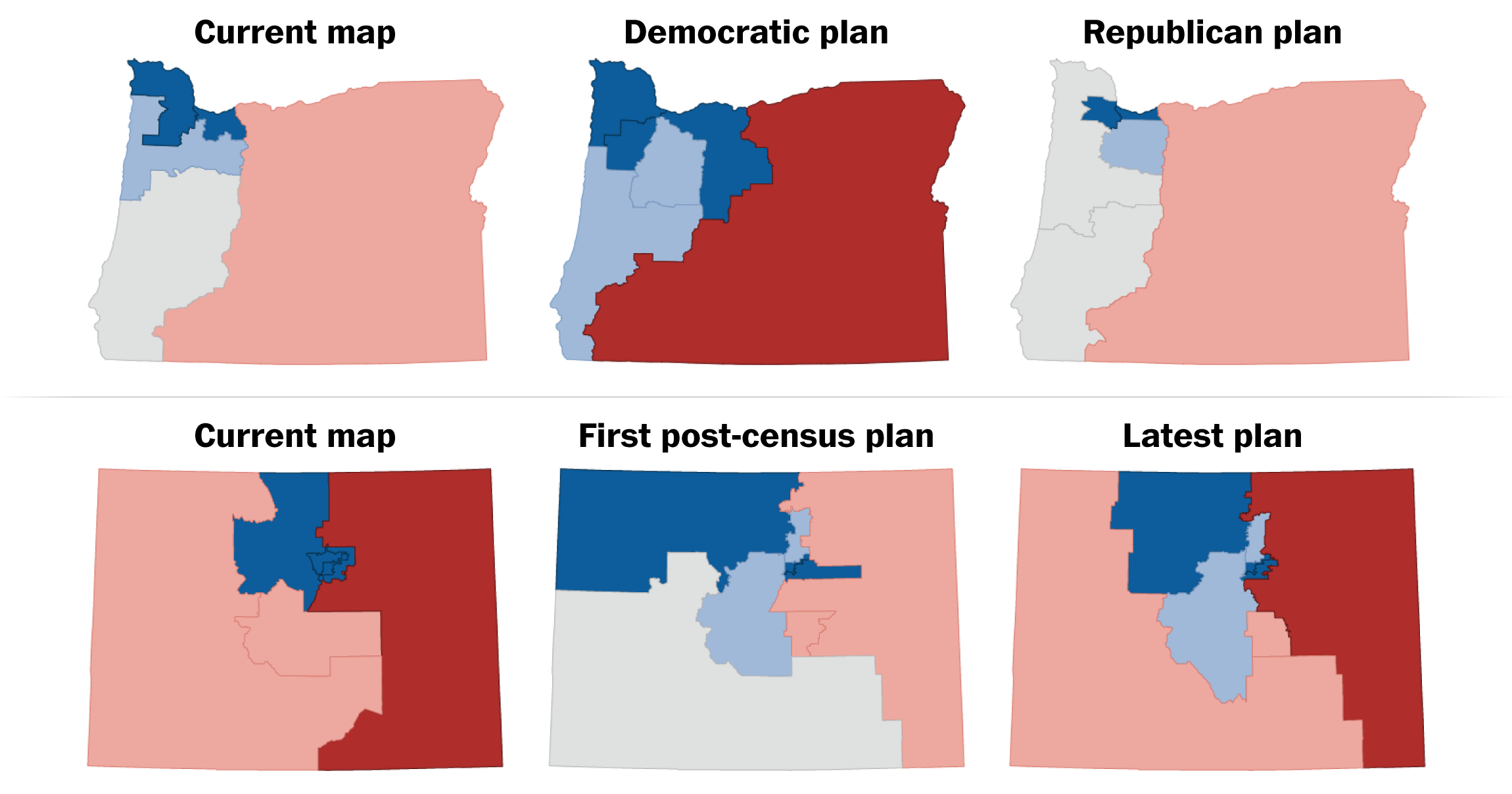 How Redistricting In Oregon and Colorado Made The Case For State Independent Redistricting Commissions